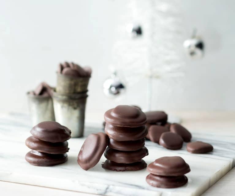 Chocolate mint thins