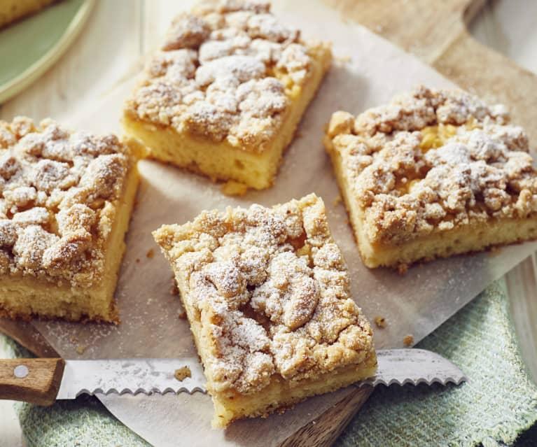 Apfel-Streusel-Kuchen vom Blech