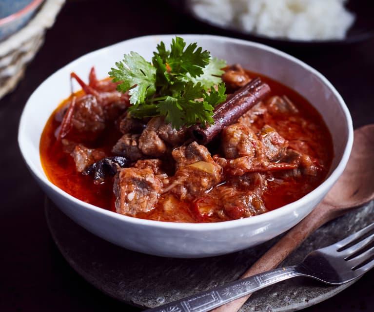 Suppenfleisch in Tomatensauce  (番茄炖牛腩)