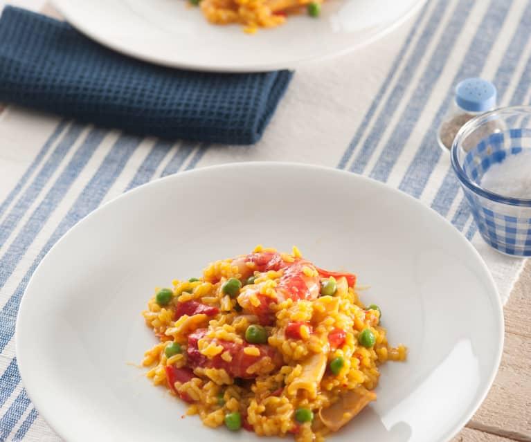 recetas thermomix arroz meloso con carabineros