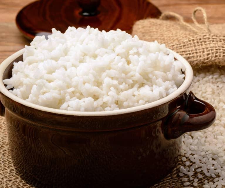 Arroz blanco (Cocción de arroz)