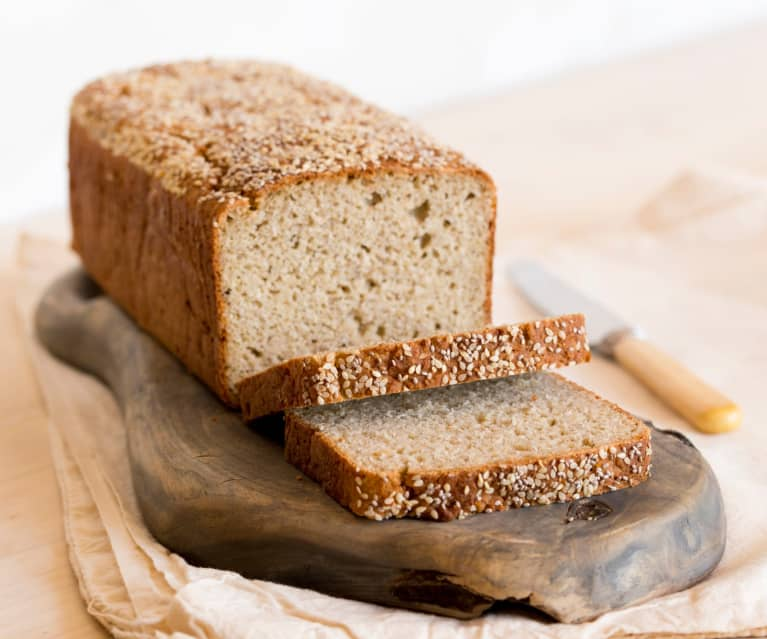 Sesame and chia seed loaf