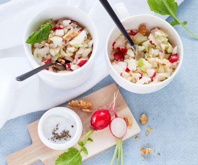 Kohlrabi-Radieschen-Salat