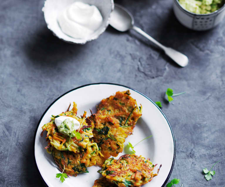 Zucchini fritters (Toddlers and beyond)