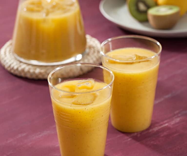 Refresco de frutas tropicales