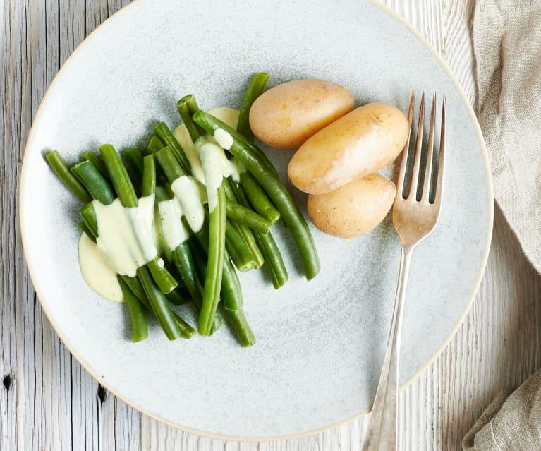 Salada de feijão-verde