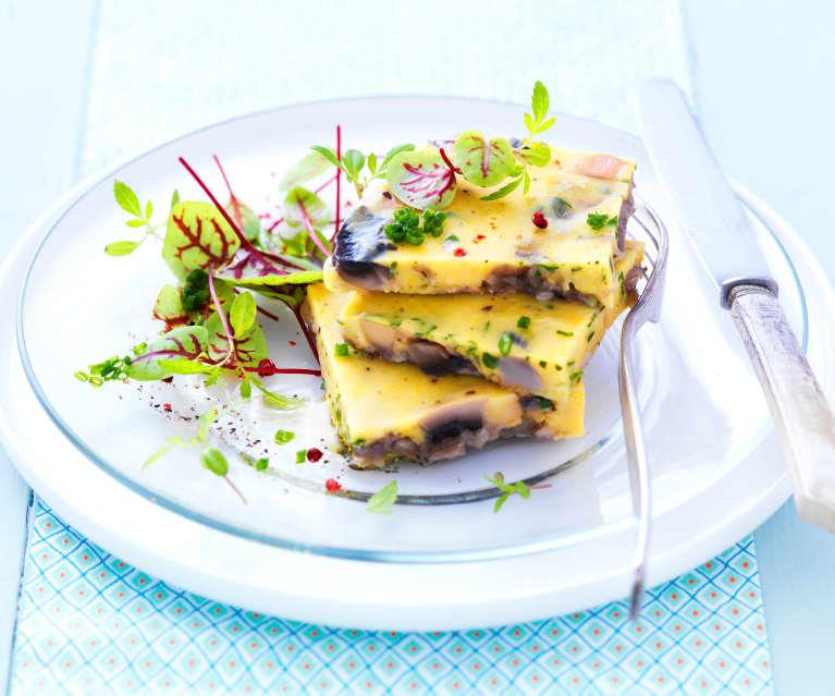 Omelette végétale sans oeuf
