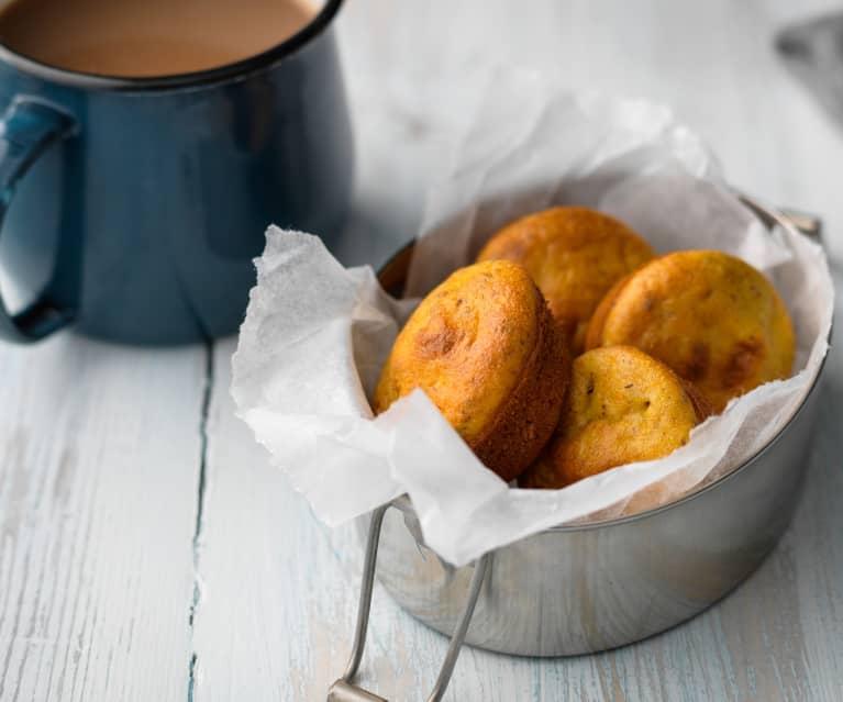 Mini muffin alle carote, mele e semi di chia
