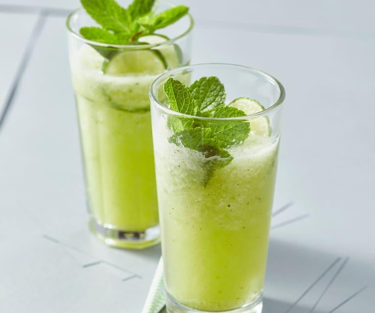 Gurken-Limetten-Cooler
