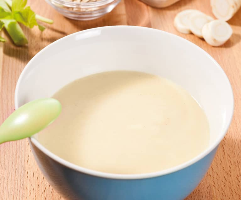 Grundrezept Gemüse-Kartoffel-Fleisch-Brei (für den 6. bzw. 7./8.Monat )