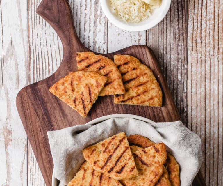 Soft and Cheesy Pita Bread