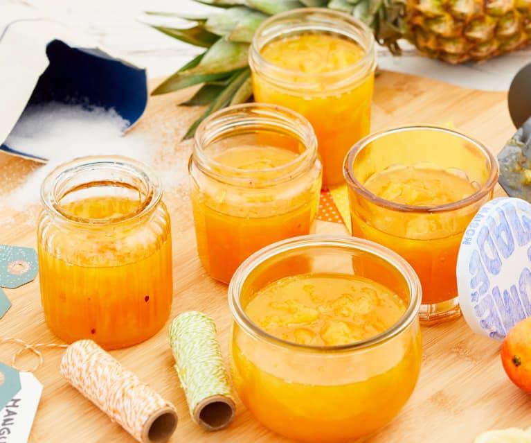 Confiture ananas-mangue