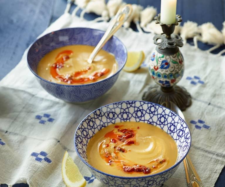 Rote-Linsen-Suppe - Mercimek Çorbası