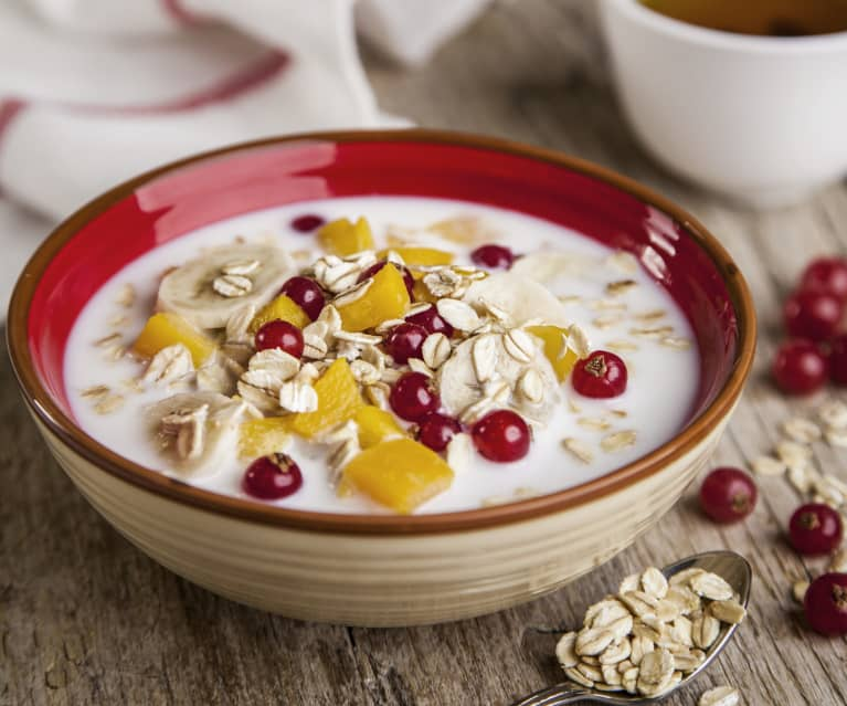 Porridge with Fresh Fruit