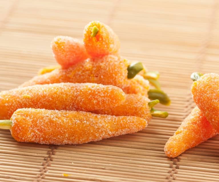 Gominolas de zanahoria