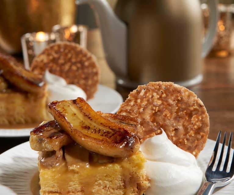 Bananas Foster Bread Pudding