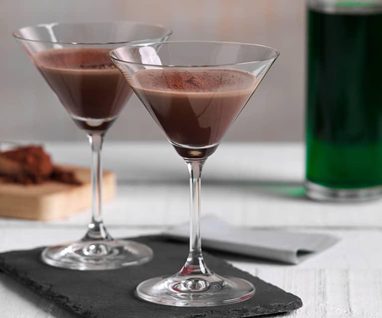 Cóctel de chocolate y menta