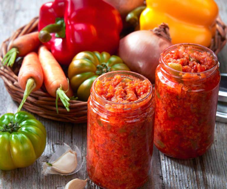 Salsa di verdure miste agrodolci