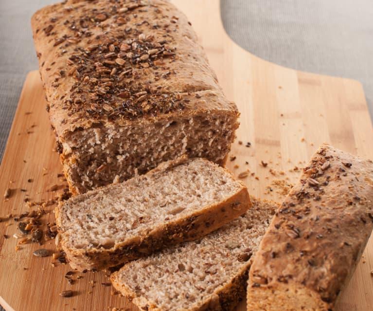 Pan de centeno con masa agria