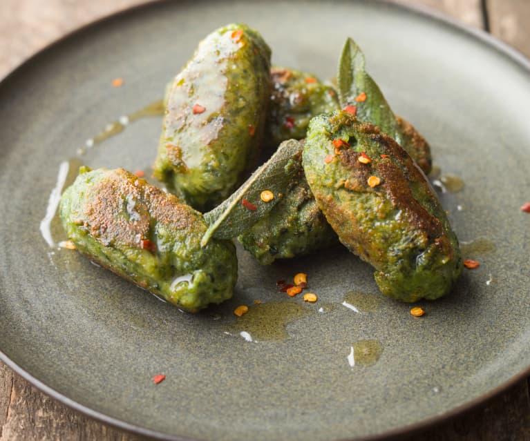 Spinach and Ricotta Malfatti - Malfatti di spinaci e ricotta