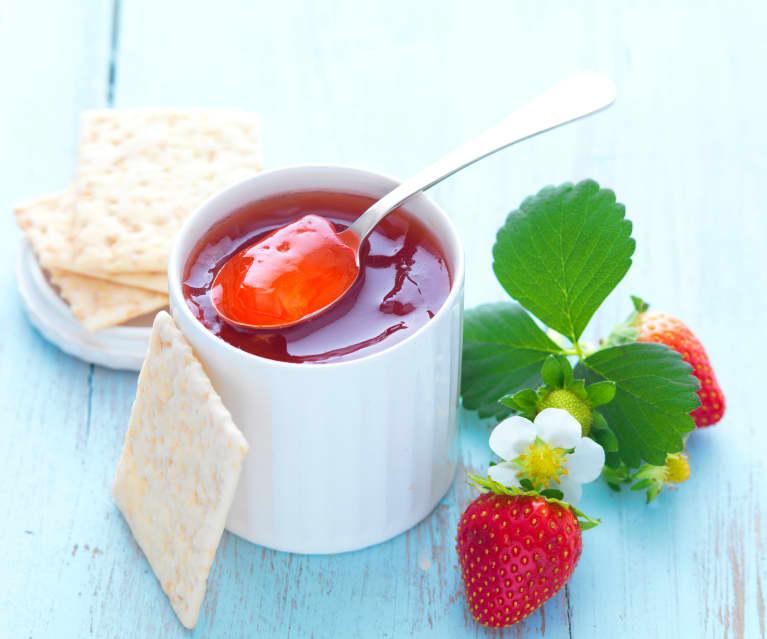 Gelée de queues de fraise