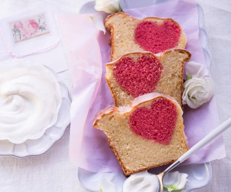 Herz-Kastenkuchen