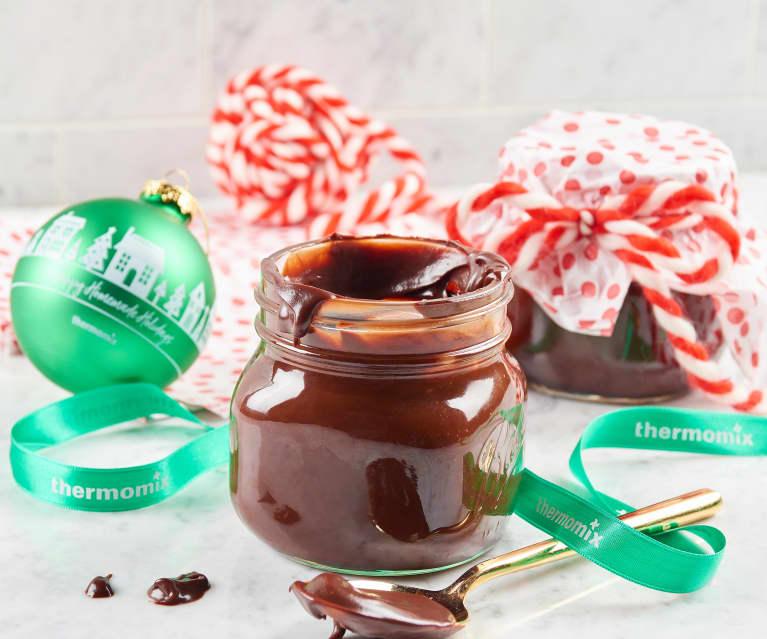 Chocolate Bourbon Caramel Sauce