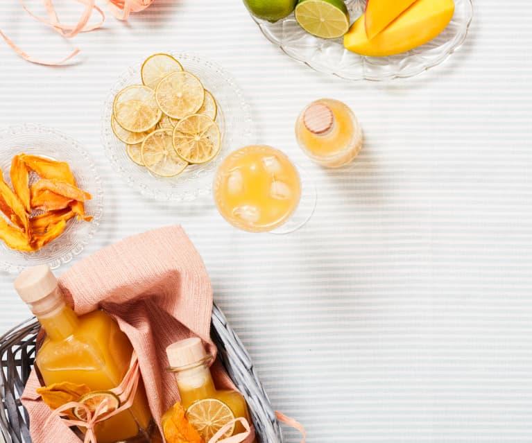 Mango-Limetten-Limes