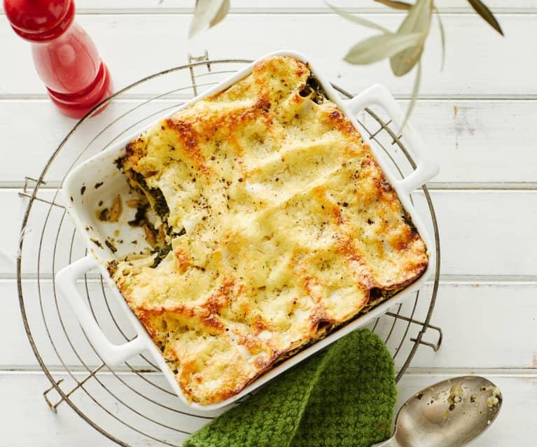 Grünkohl-Lasagne