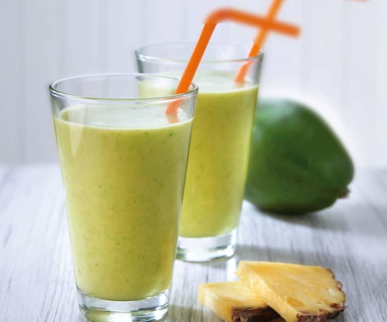 Smoothie avocado ed ananas