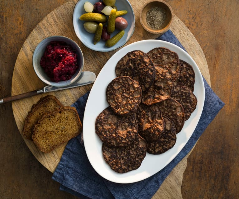 Country-style chicken liver fritters