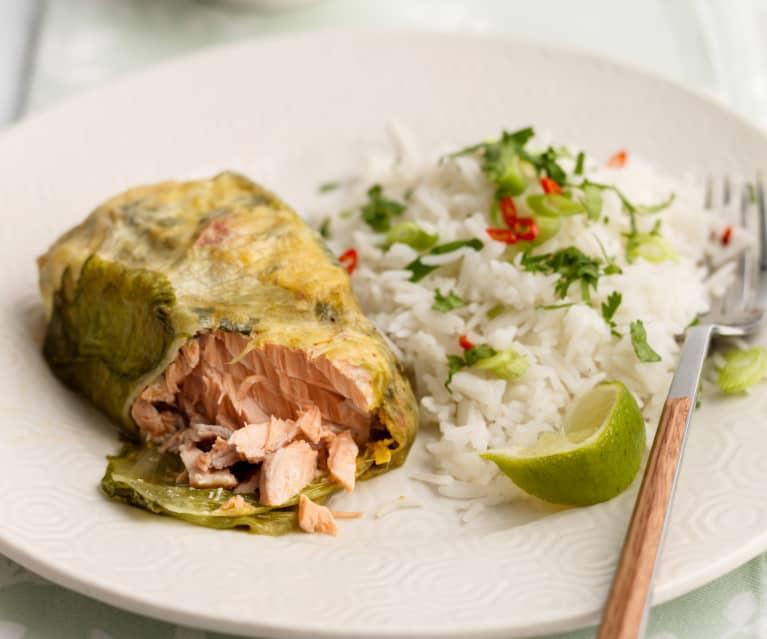 Thai-Lachs-Päckchen