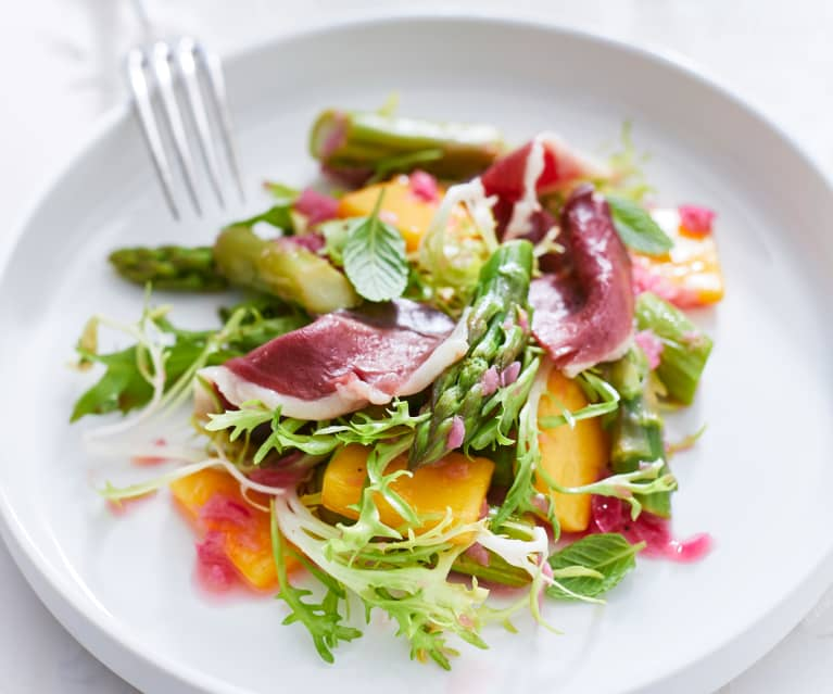 Asparagus and Mango Salad
