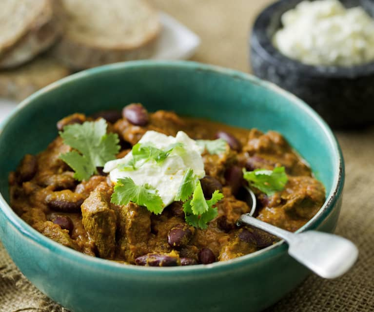 Chilli Beef with Lemon Feta