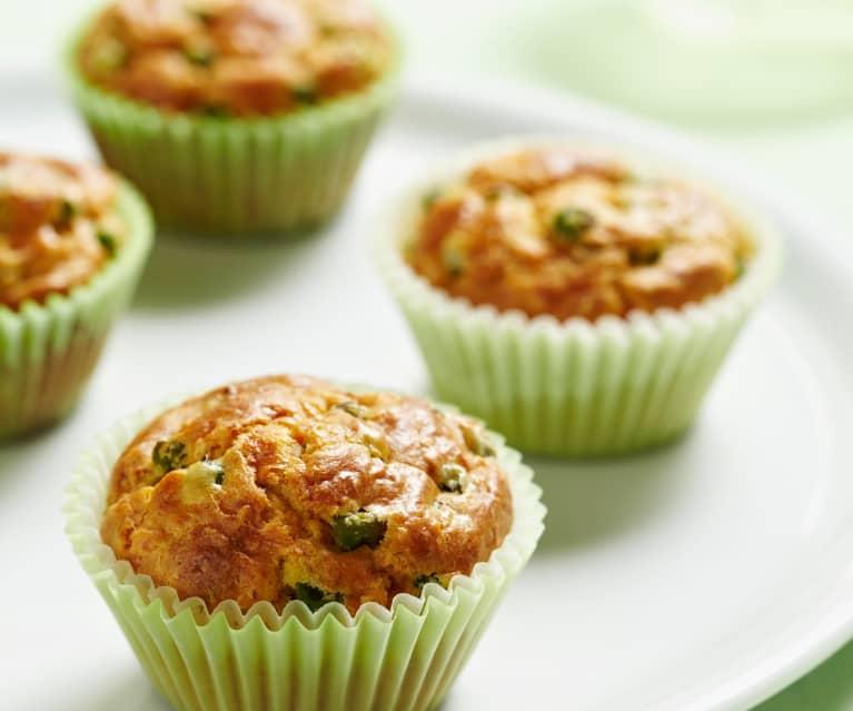 Gemüse-Käse-Muffins