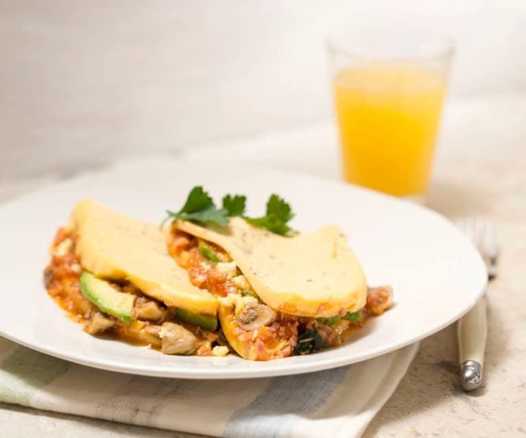 Ricetta Omelette Bimby Tm5.Omelette Cookidoo La Nostra Piattaforma Ufficiale Di Ricette Per Bimby