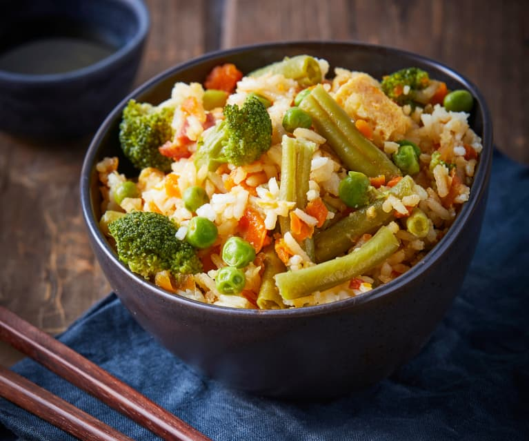 Arroz asiático con verduras TM6
