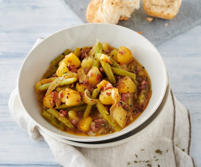 Grüne Bohnen-Kartoffel-Eintopf