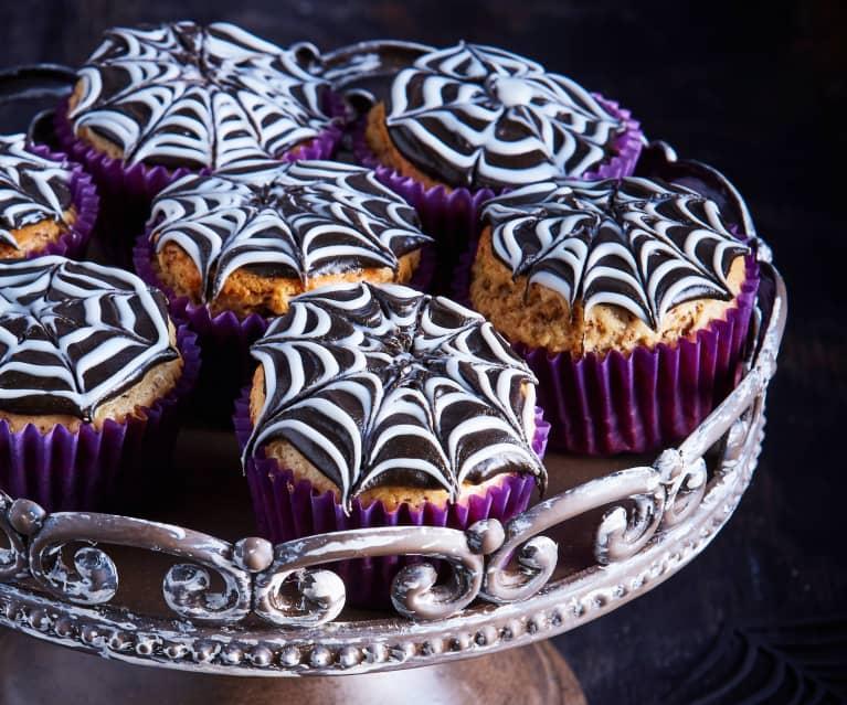 Cupcakes tela de araña