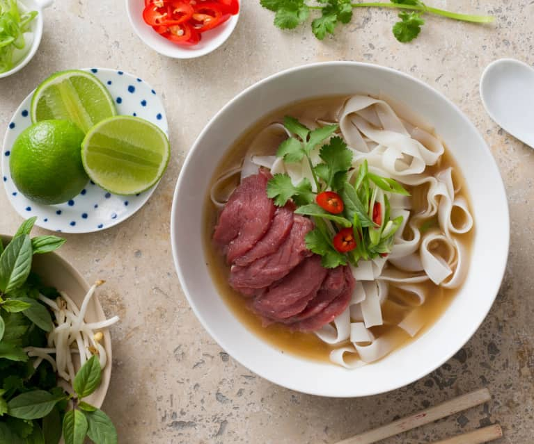 Pho Bo Vietnamese Beef And Noodle Soup Cookidoo The Official Thermomix Recipe Platform