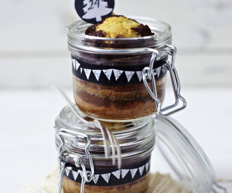 Gâteau en verrine