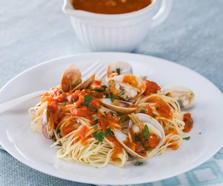 Espagueti a la vóngole