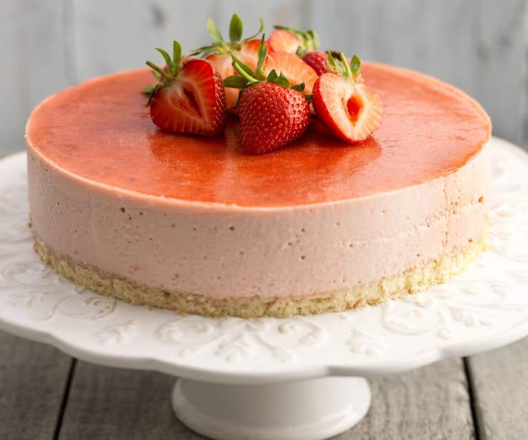 Strawberry Bavarois