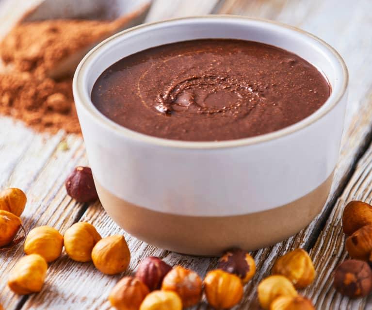 Crema de avellanas y chocolate