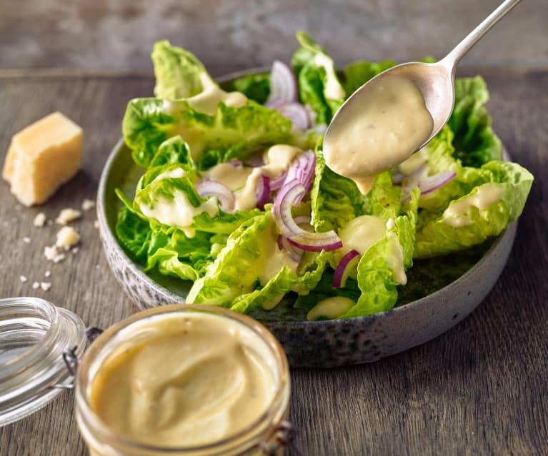 Caesar-Salat-Dressing (eifrei)