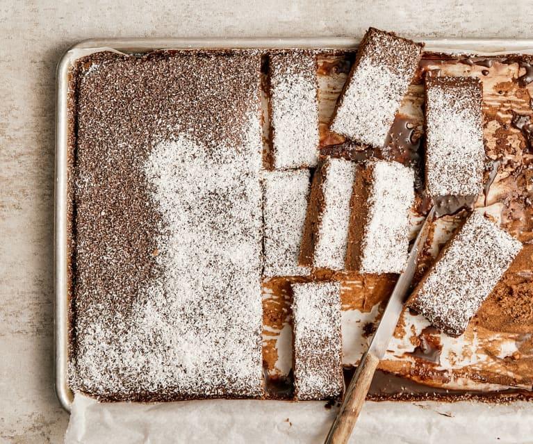 Schokolade-Kokos-Kuchen