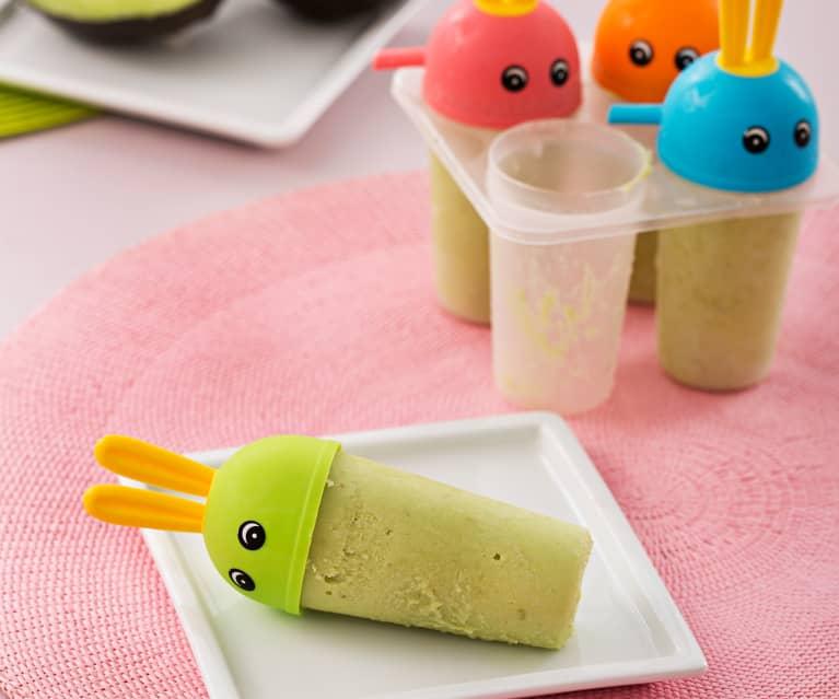 Lody kremowe z awokado i jogurtem