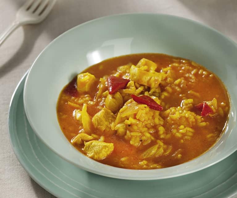 preparar arroz caldoso pull a fast one pollo