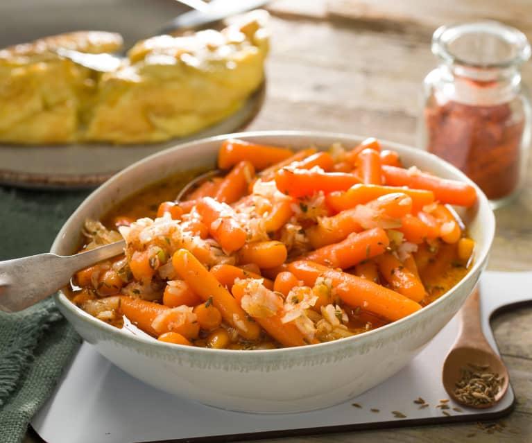 Zanahorias baby aliñadas