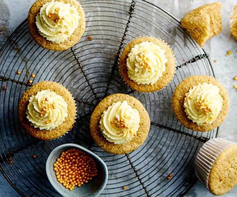 Kürbis Cupcakes
